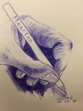 mijn Linker hand